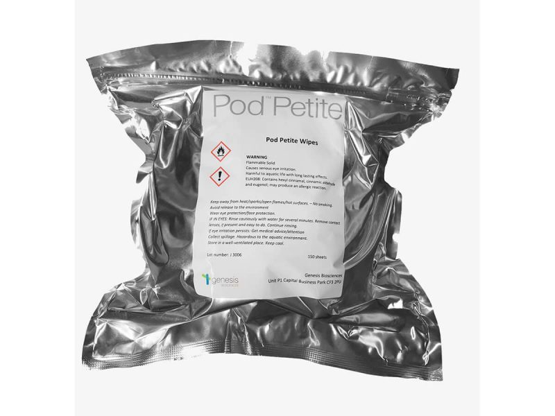 Pod Protect Cleaning and Sanitising Wipes Refill Pack