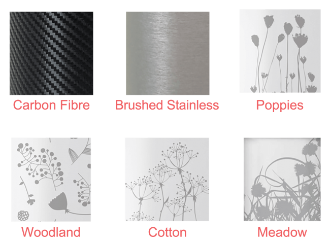 A picture showing wrap of Pod Wrap decal designs