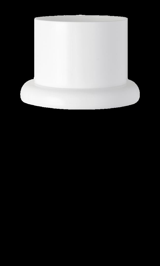 A white Pod Classic Stand